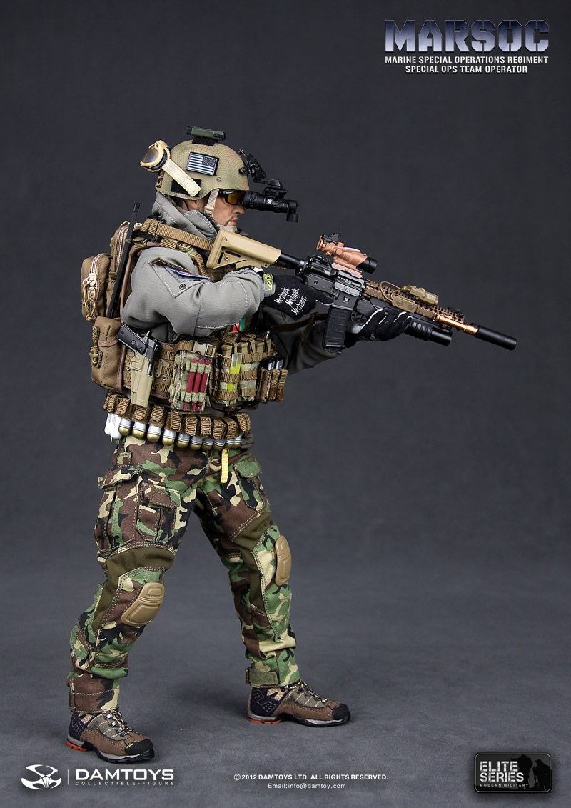 new dam toys 1  6 marsoc special ops marine